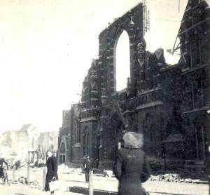 Molenstraatkerk in 1944