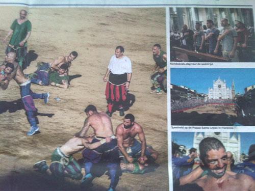 Deel van de Volkskrant-fotoreportage 'Hard tegen hard', 21-8-2013.