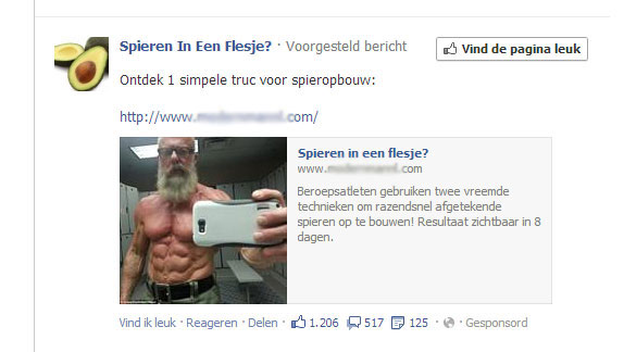 Facebook-advertentie
