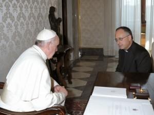 Paus Franciscus in gesprek met Antonio Spadaro SJ
