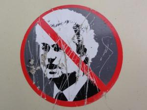 Protest tegen Wilders. Foto: Erik bij de Vaate via Flickr.com (cc)