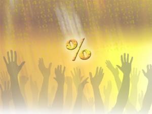 Het percentage: ons gouden kalf