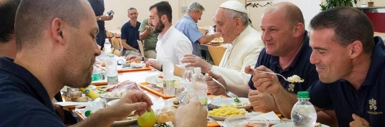 Een pauselijke pauze