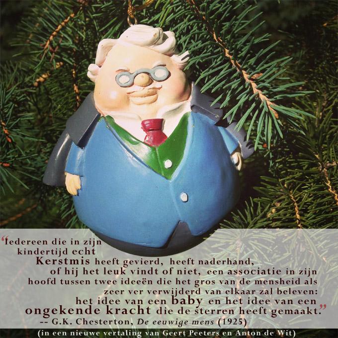 G.K. Chesterton - Kerstgedachte