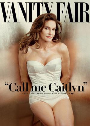 Caitlyn Jenner op de cover van de Vanity Fair.