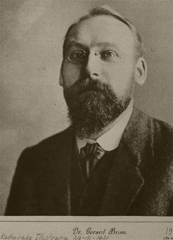 Gerard Brom in 1921. Foto: Geheugen van Nederland