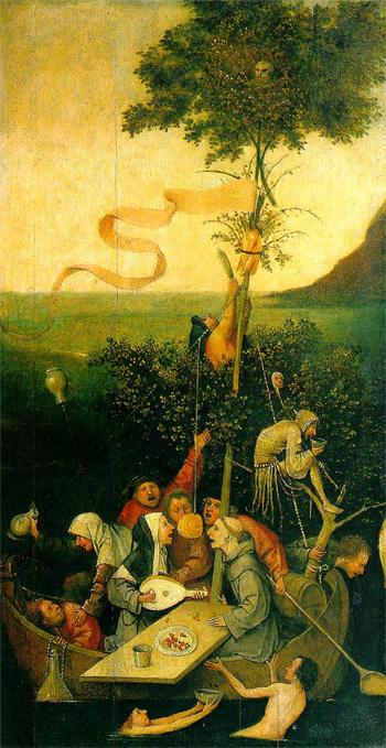 Jheronimus Bosch, Het Narrenschip, ca. 1494.