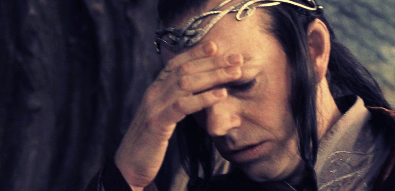 Heilige Elrond, beste vrind…