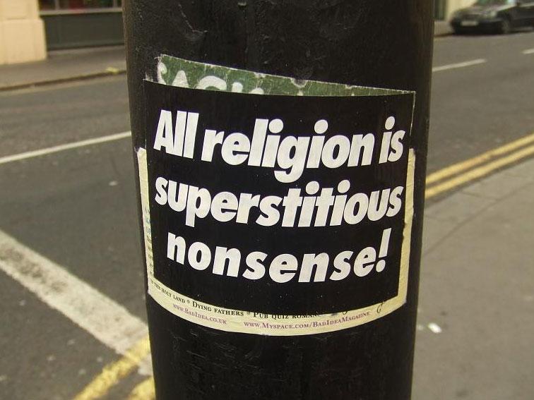 Verwar godsdienst niet met spirituele modes