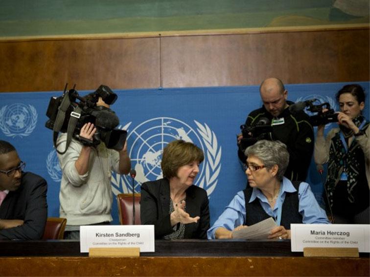 De aap uit de VN-mouw